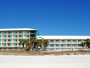 Exterior view of Bikini Beach Resort Motel.