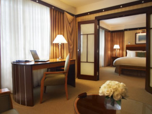 Junior Suite at Sofitel Philadelphia.