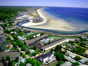Aerial View of Wells-Ogunquit Resort Motel