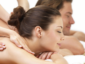 Couple's massage at Christie's Mill Inn & Spa.