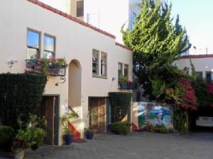 Courtyard at Marina Motel