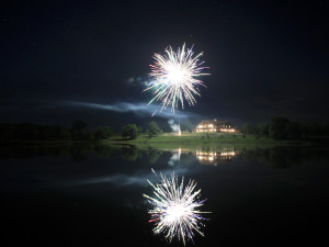 Fireworks at Morrell Ranch.