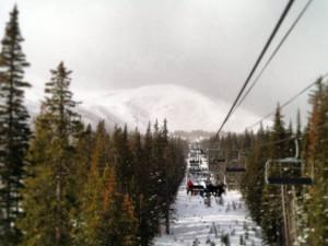 Ski lift at Ski Country Sports.