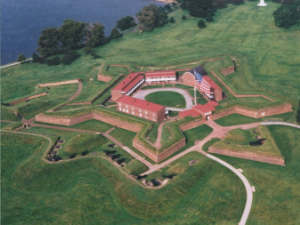 Historic Fort McHenry near by Best Western Baltimore.