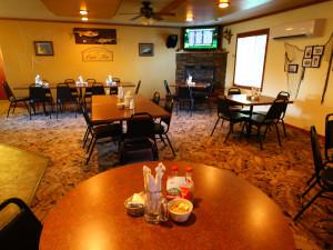 Dining at Cyrus Resort.