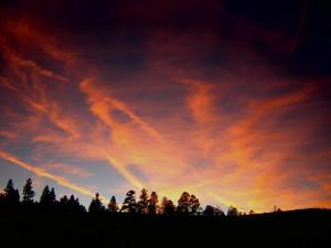 Beautiful Sunset at Retreat at Angel Fire