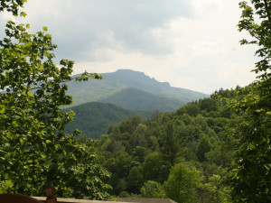 Mountain view at Foscoe Rentals.