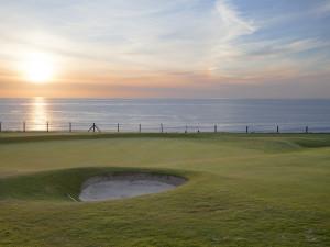 Newquay Golf Club near Fistral Beach - Cornwall.