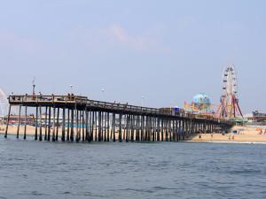 Ocean City Pier near Plim Plaza Hotel Ocean City.
