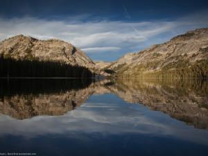Yosemite National Park lake near Greenhorn Creek Resort.