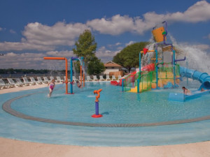 Water park at La Torretta Lake Resort.