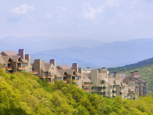 Exterior view of Wintergreen Resort.