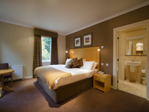 Guest room at Murraypark Hotel.
