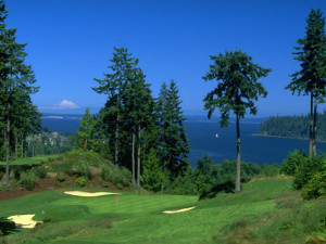 Golf course near The Resort at Port Ludlow.