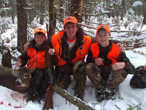 Hunting at Wilsons on Moosehead Lake.