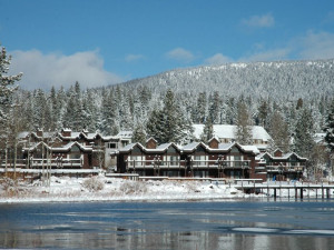 Exterior View of Tahoe Marina Lodge