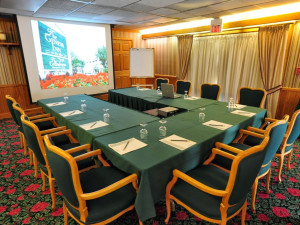 Meeting room at The Geneva Inn.