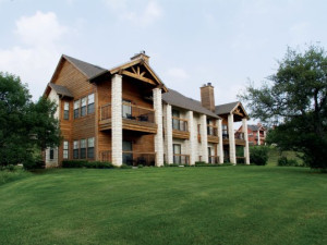 Exterior view of White Bluff Resort.