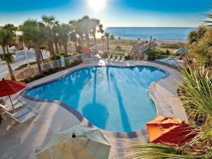 Outdoor pool at Holiday Inn Club Vacations South Beach Resort.