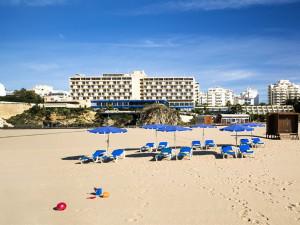 Beach at Hotel Algarve Casino.