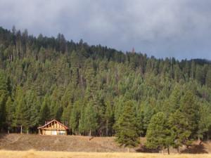Cabin exterior at Alta Ranch, LLC.