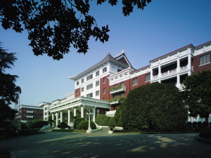 Exterior view of Shangri-La Hotel-Hangzhou.