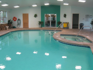 Indoor Pool at the Mohican Lake Resort