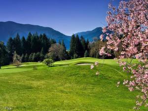 Golf course at Carson Hot Springs Spa.