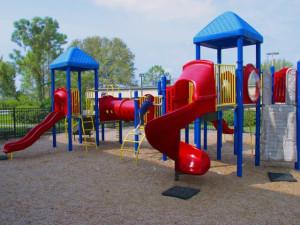 Children's playground at Rosen Inn at Pointe Orlando.