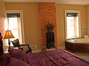 Guest Room at The Inn at Jim Thorpe