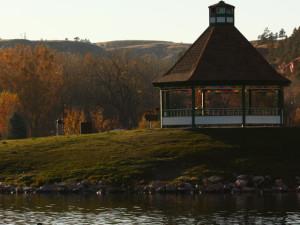 Gazebo at Canyon Lake Resort.