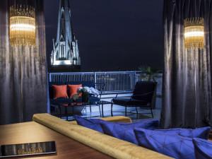 Guest room at Hotel De Sers.