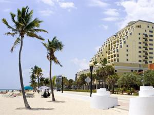 The beach at The Atlantic Resort & Spa.