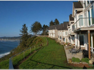 Waterfront property at Beachhouse Vacation Rentals.
