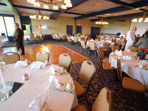 Wedding setup at Landmark Resort.