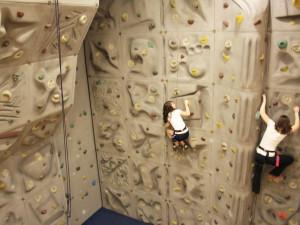 Rock climbing at The Boar's Head.