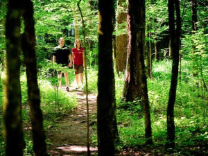 Hiking at Mountain Shadows Resort.