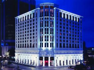 Exterior view of Grand Bohemian Hotel Orlando.