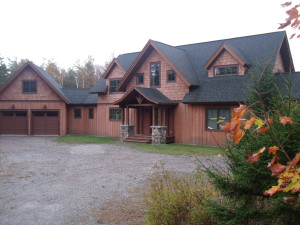 Rental exterior at Lake Placid Accommodations.