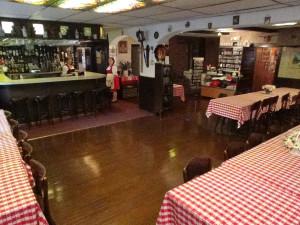 Dining room at Crystal Brook Resort.