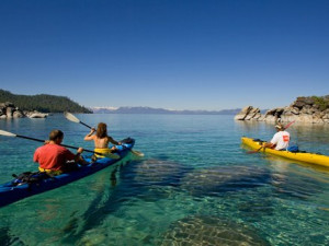 Kayaking at Forest Suites Resort