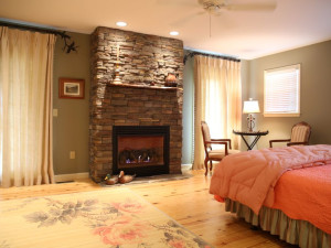 Rental bedroom at Chambers Realty & Vacation Rentals.