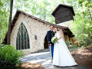 Wedding at Callaway Gardens.