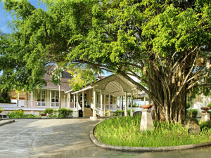 Exterior view of Banyan Tree Seychelles.
