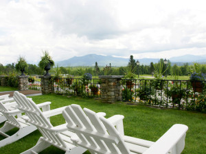 Adirondack chairs at Mountain View Grand Resort.