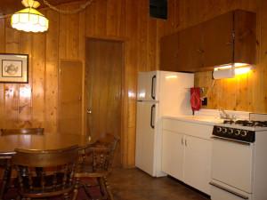 Cottage kitchen at Amberwood.