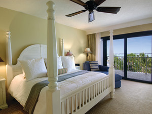 Guest room at Hawks Cay Resort.