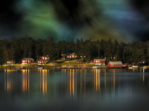 Cabins on the Lake at Rough Rock Lodge