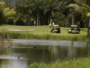 Playing Golf at Barcelo Tambor Beach Resort
