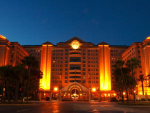 Exterior view of The Florida Hotel and Conference Center.